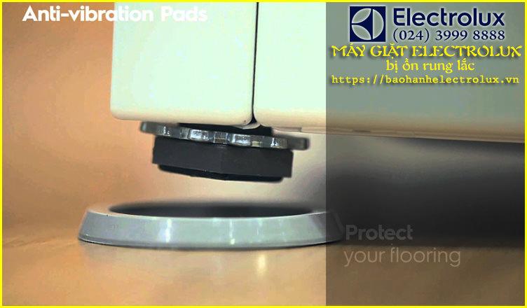 máy giặt electrolux bị ồn rung lắc