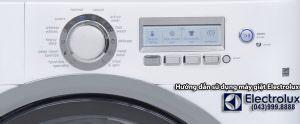 cách dùng máy giặt electrolux