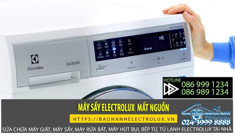 Máy sấy electrolux mất nguồn có thể do IC nguồn chết hay hỏng mạch điều khiển