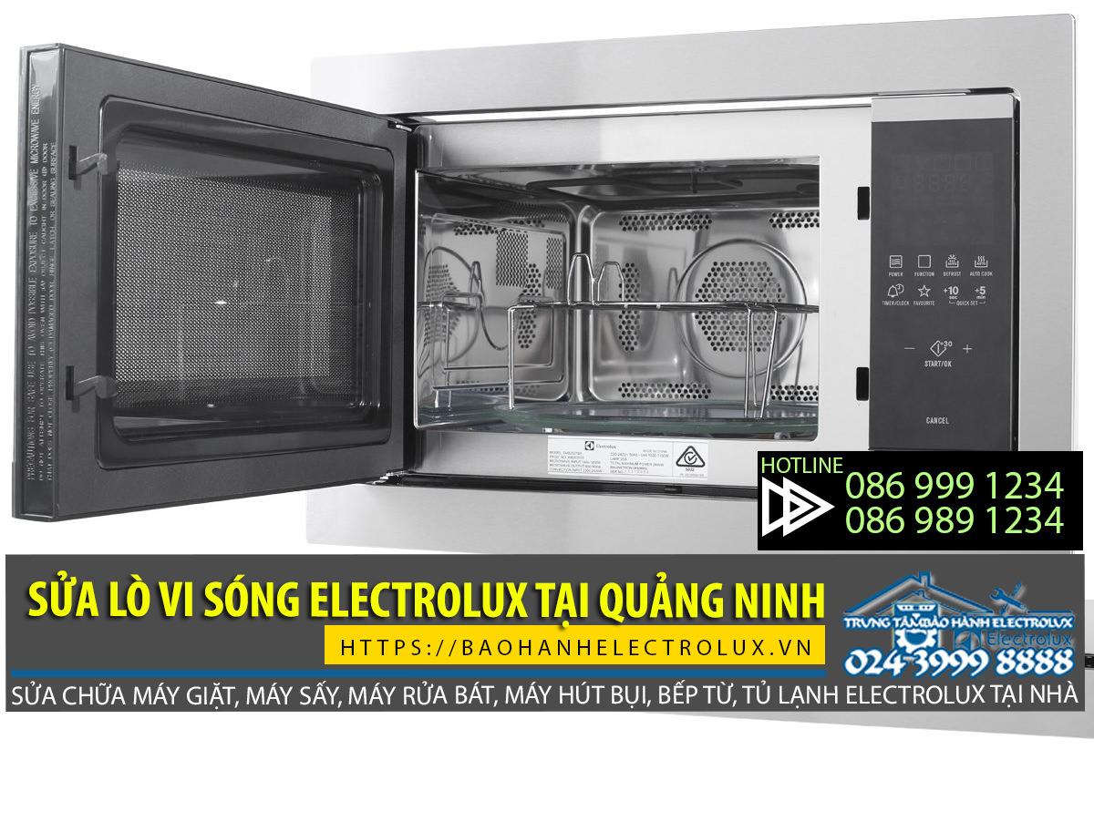 sửa lò vi sóng Electrolux tại Quảng Ninh