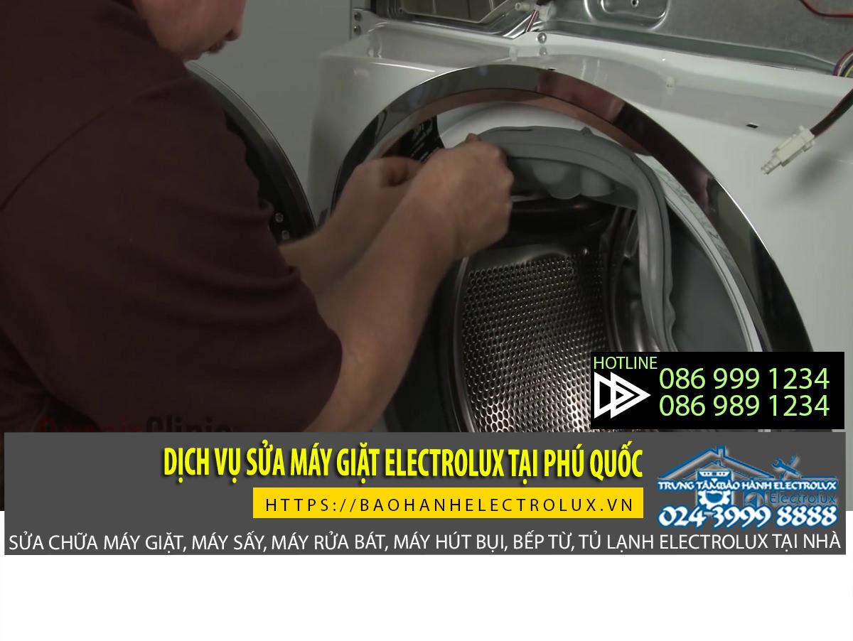 sửa máy giặt electrolux tại phú quốc