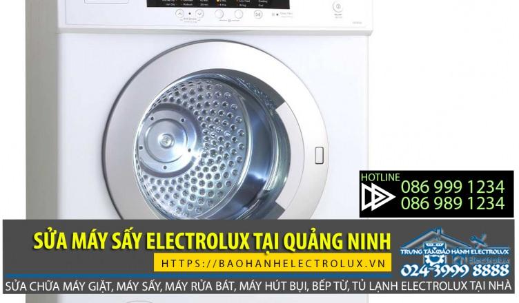 Dịch vụ sửa máy sấy Electrolux tại Quảng Ninh giá rẻ, chất lượng