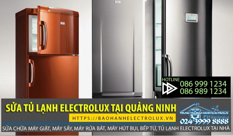 Dịch vụ sửa tủ lạnh Electrolux tại Quảng Ninh