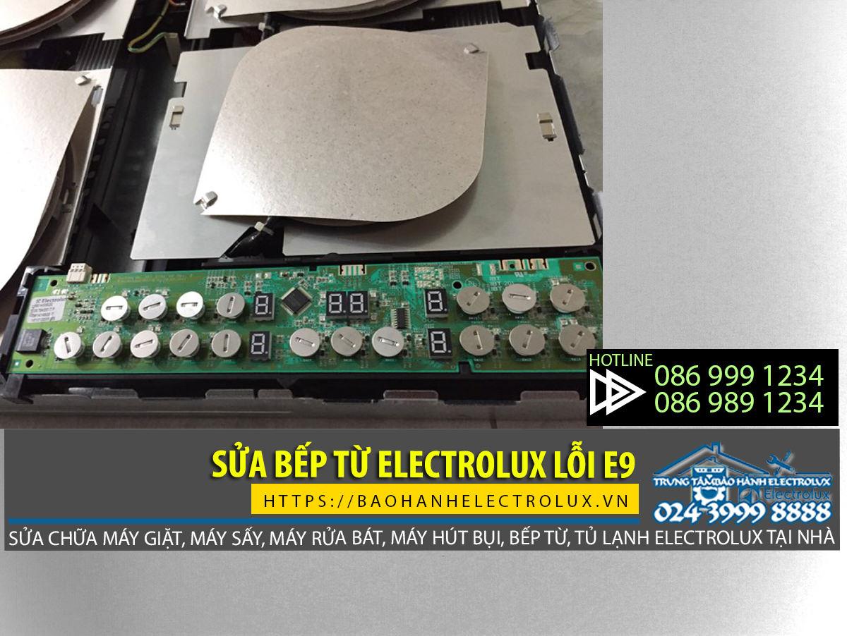 Bếp từ Electrolux lỗi E9 và hướng xử lý lỗi hiệu quả