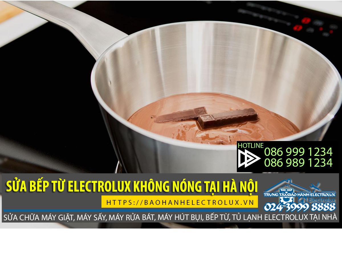Bếp từ Electrolux không nóng