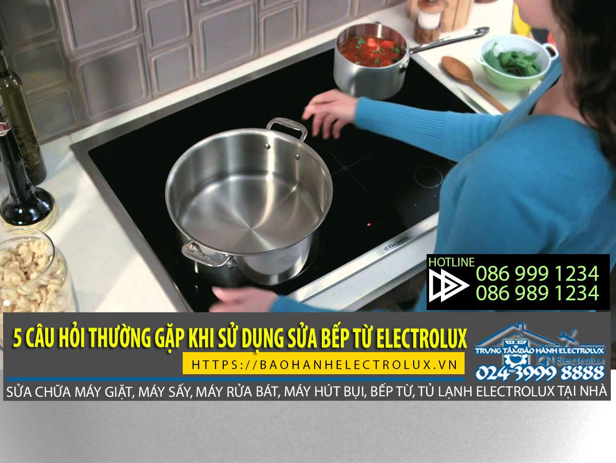 Bếp từ Electrolux