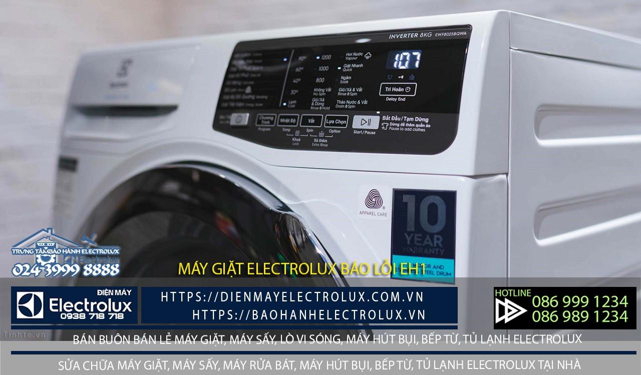 Máy giặt Electrolux lỗi EH1