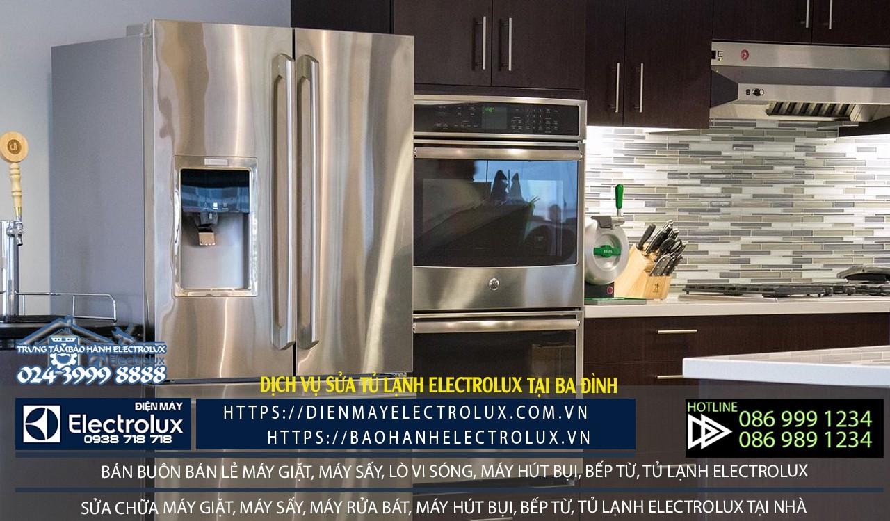 sửa tủ lạnh Electrolux tại Ba Đình